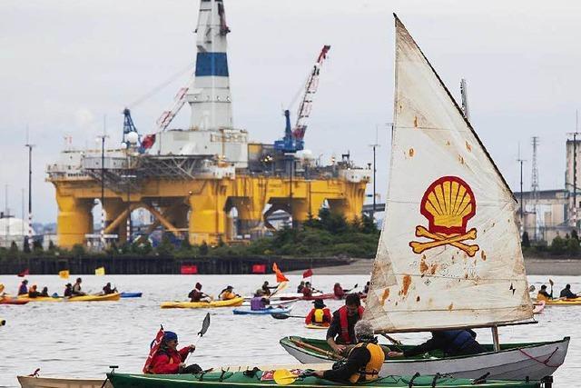Shell stellt Ölbohrungen in der Arktis ein