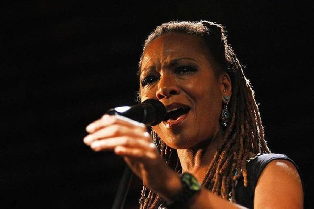 Tolles Finale: Lisa Simone beim Jazz-Festival