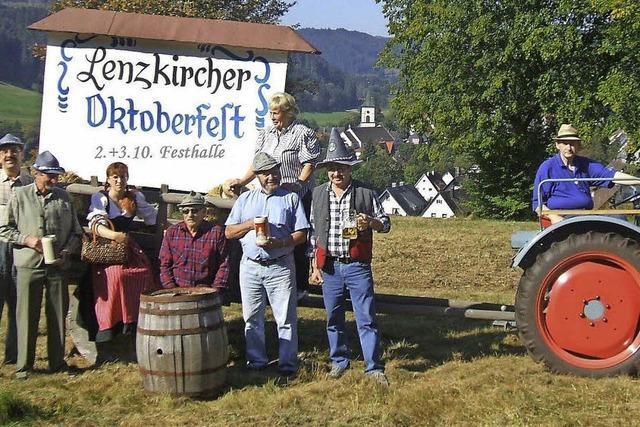 Festhalle wird bayerisches Bierzelt