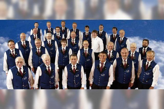 Männergesangverein in Breitnau