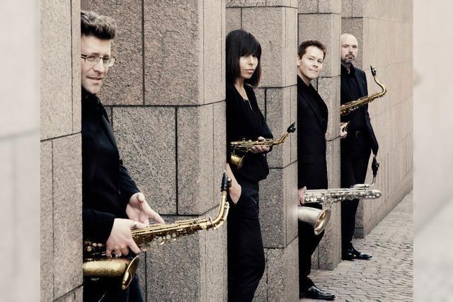 Saxophon und Orgel kommen beim Konzert in Zähringen zusammen.