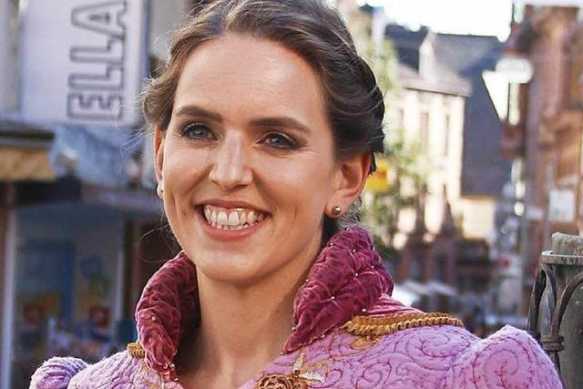 Silke I. ist die zehnte Lahrer Chrysanthemenkönigin