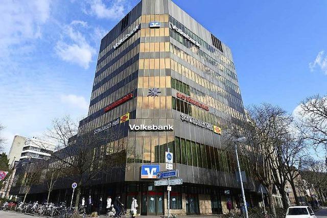 Volksbank-Hochhaus und Hotel Rheingold werden abgerissen und neu errichtet