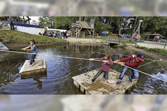 Den Abenteuerspielplatz in Weingarten gibt es seit 40 Jahren