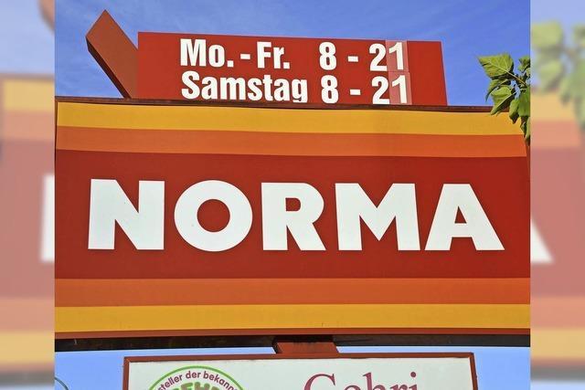 Auch der Discounter Norma darf nicht erweitern