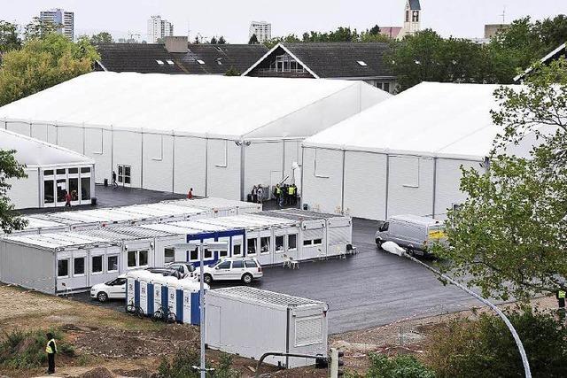 Freiburger Flüchtlingsunterkunft: 41 Polizeieinsätze seit Eröffnung
