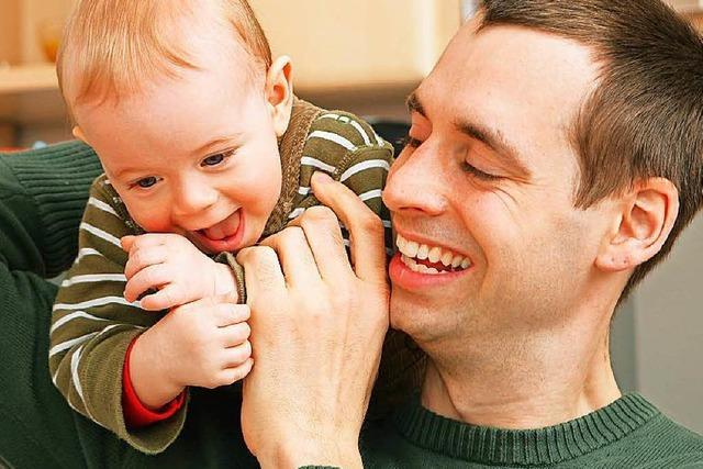 In welchen Gegenden ist Elterngeld für Väter populär?