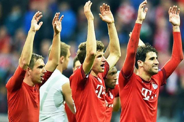 FC Bayern degradiert Zagreb und freut sich auf die Wiesn