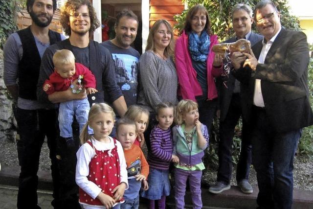 Fleißige Eltern, großzügige Spender