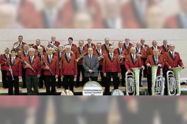 Veteranenmusik Schaffhausen in Höchenschwand