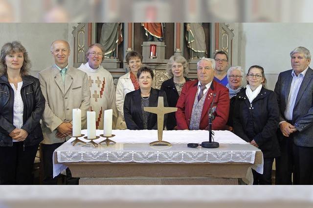 Neues Gemeindeteam beim Patrozinium vorgestellt