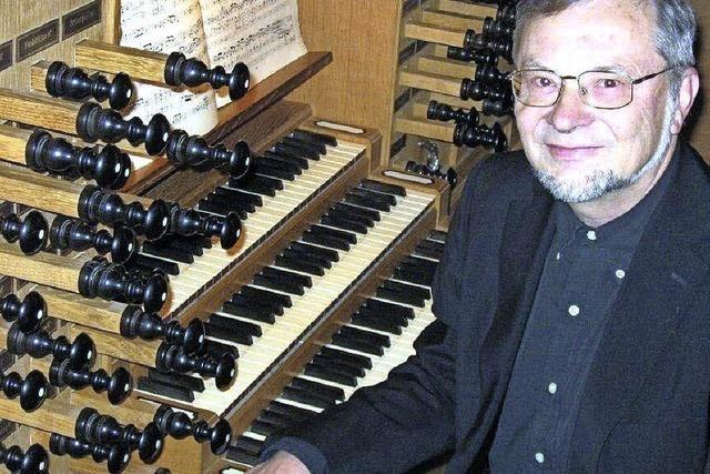 Organist Bernhard Marx eröffnet Orgelreihe in St. Johann.
