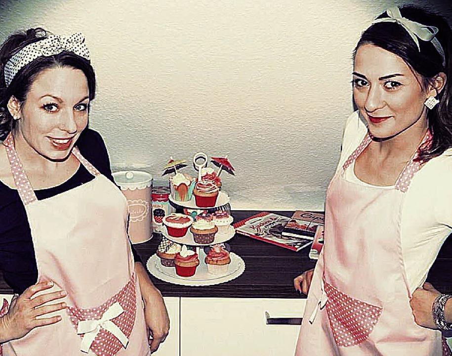 Anina Schiwitz und Ulrike Dahl betreib...bby und beliefern Freunde und Familie.  | Foto: Privat