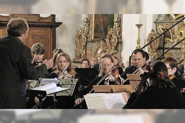 Orchester am Hochrhein und Ensemble Muss im Kursaal in Bad Säckingen