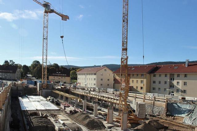 Bauarbeiten rund um den Friedrich-Ebert-Platz gehen zügig voran