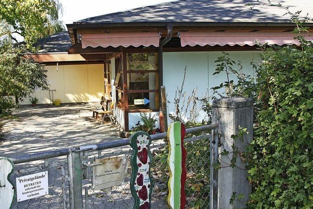 Kinderhaus wird abgerissen und neu gebaut - Container als Übergangslösung