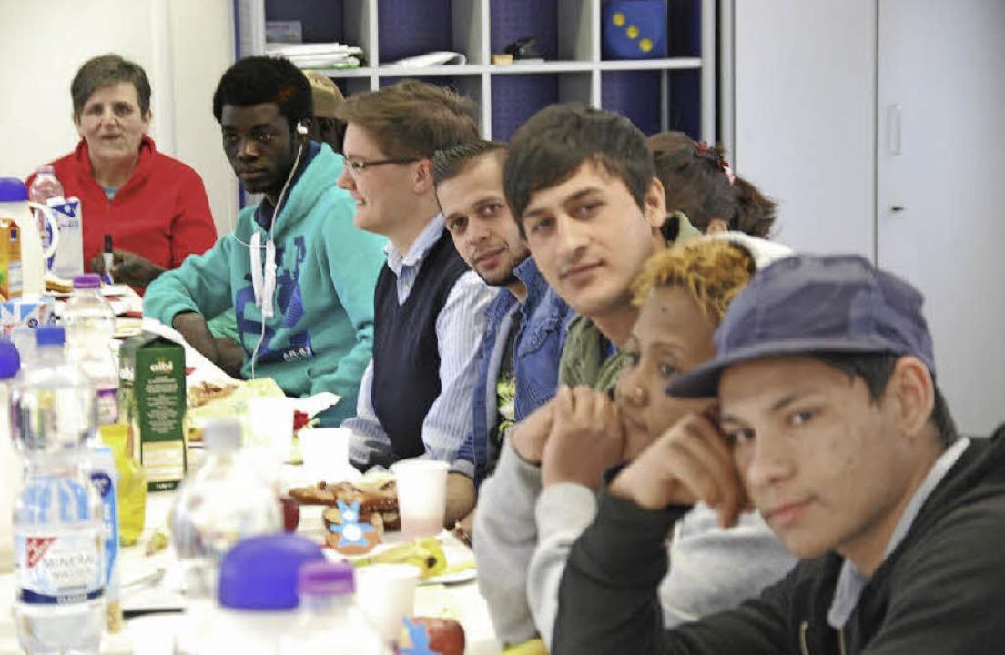 Sprachunterricht für Asylbewerber  im Rahmen der Berufsvorbereitung  | Foto: Archiv: Ralf Staub