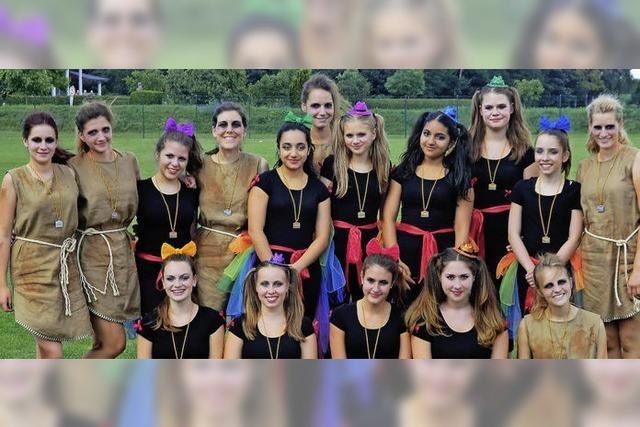 Tolle Leistung der Haltinger Tänzerinnen