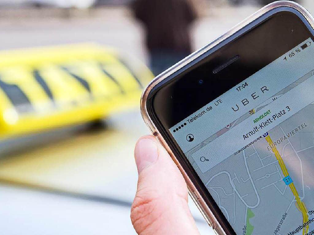 uber taxi basel