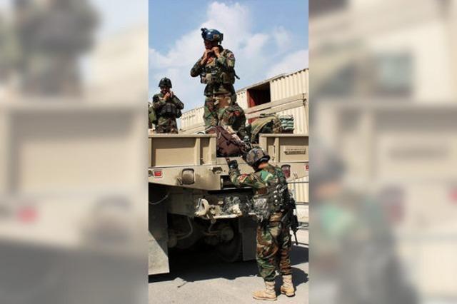 Taliban und Militär kämpfen um Kundus