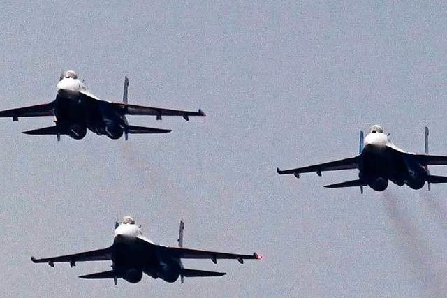 Luftschläge in Syrien: Russland greift ein