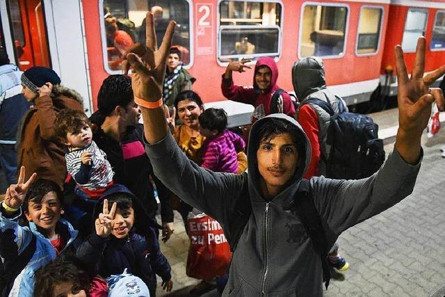 Fast 30.000 neue Flüchtlinge im Südwesten allein im September