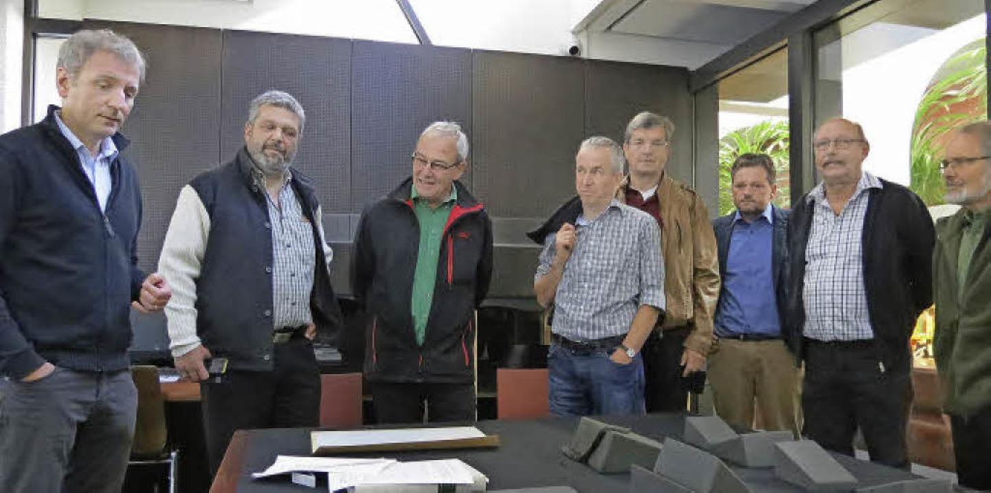 Stiftsarchivar Dr. phil, MAS, Peter Er... Hany und Emil Kümmerle, Brunnadern.    | Foto: Ulrich Werner Schulze