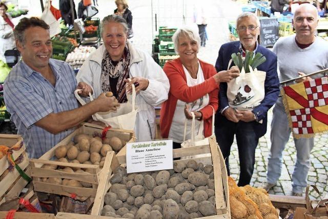 Härdepflfeschd und Naturparkmarkt in Emmendingen