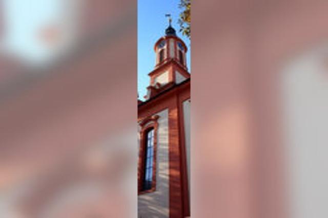 Die Kirche prägt das Dorf