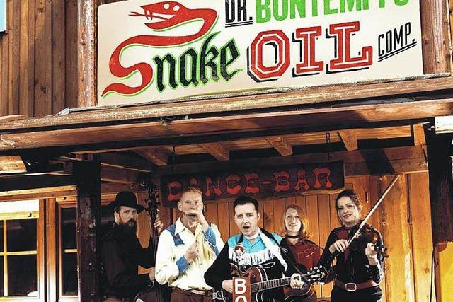 Dr. Bontempi's Snake Oil Company in Freiburg
