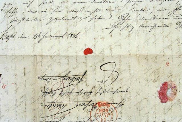 Endstation eines Briefes ist in Freiburg