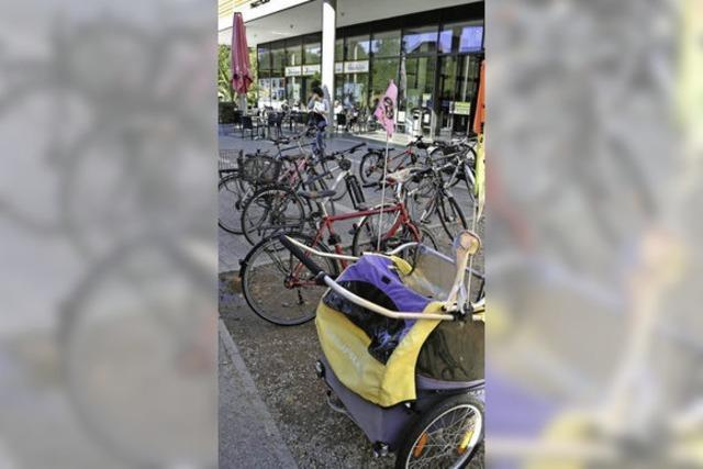 Platz für Autos statt für Räder