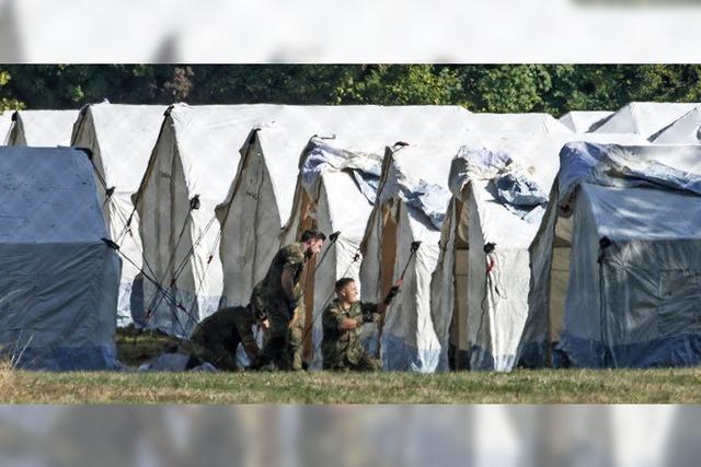 Einsatz im Flüchtlingscamp