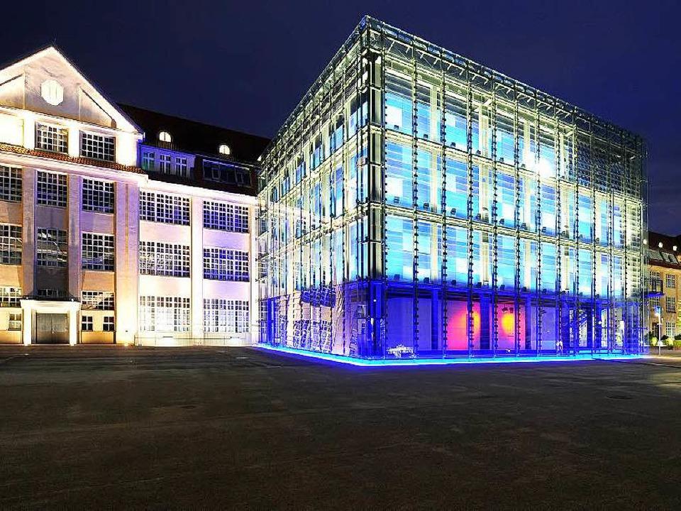 Die Ausstellung im ZKM Karlsruhe ist vom 03. Oktober bis 01. Mai 2016 zu sehen.  | Foto: Uli Deck