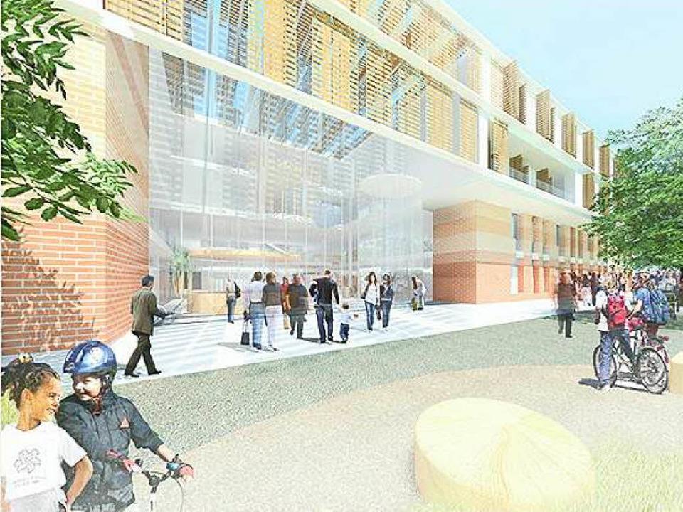 Die Entwürfe der beiden zweiten Preist... GmbH/Architects Collective  ZT-GmbH.   | Foto: Visualisierung: Universitätsbauamt