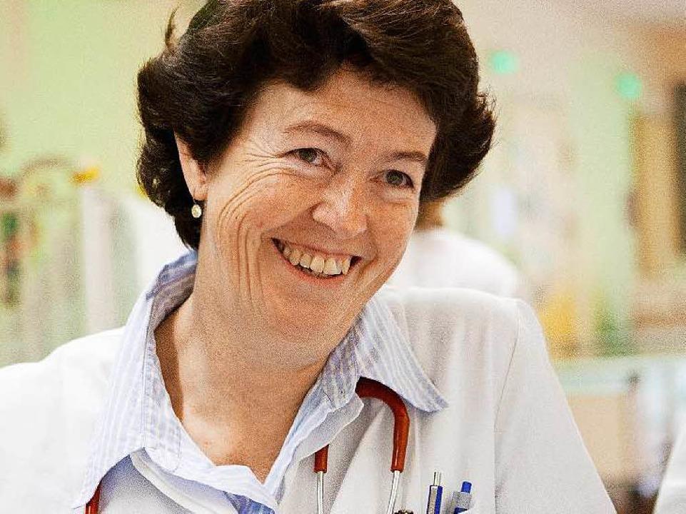 Die bayerische Kinderärztin und  Allergologin Erika von Mutius  | Foto: Verena Müller (Verena Müller / Dr. von Haunersches Kinderspital)