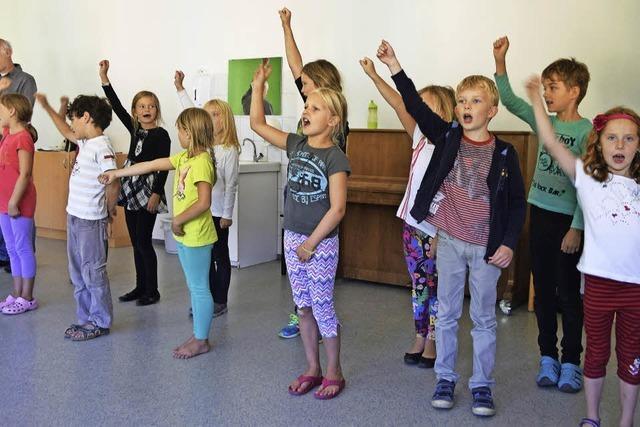 Vokalklasse der Musikschule in Müllheim