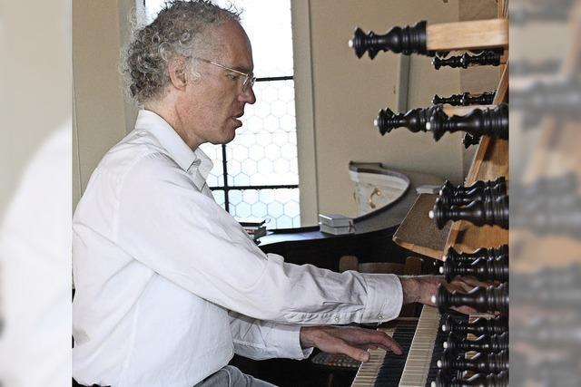 Anspruchsvolle Orgelklänge