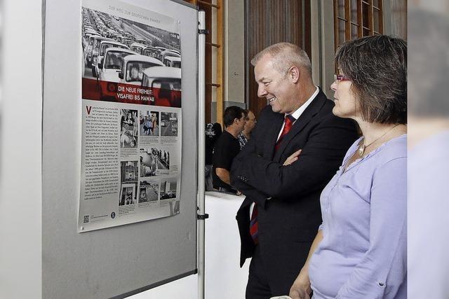 Eine Ausstellung der informativen Art