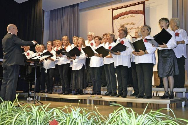 Die Frauen singen seit 35 Jahren