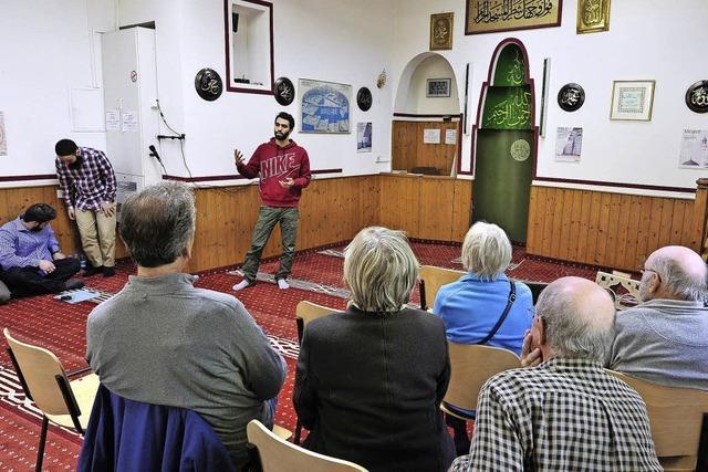 Am Tag der offenen Moschee standen junge Muslime im Mittelpunkt