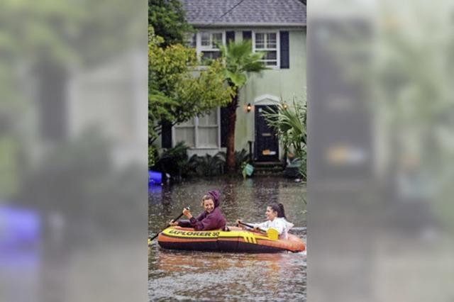 Starke Überschwemmungen in den USA