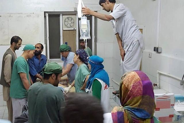 Nato trifft Klinik in Kundus - Bombardement dauert eine Stunde