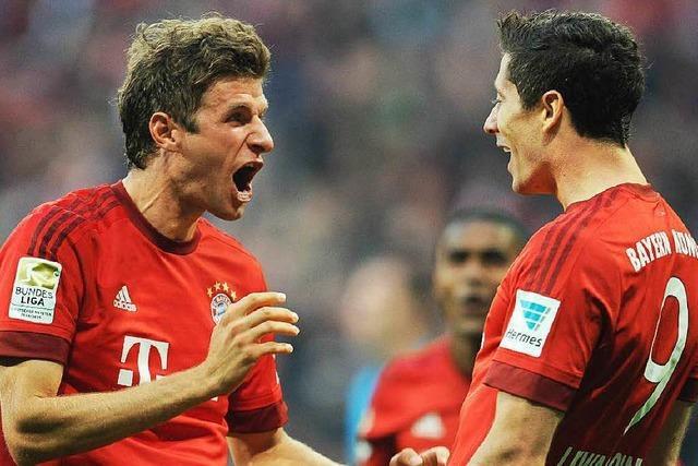 Übermächtige Bayern demütigen den BVB – 5:1