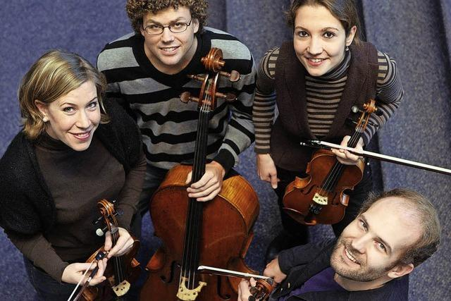 Das Amaryllis-Quartett spielt in der Müllheimer Martinskirche