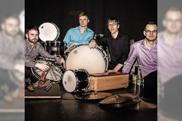 Die Black Forest Percussion Group in der Freiburger Elisabeth-Schneider-Stiftung