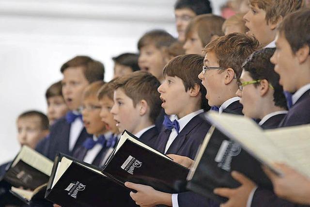 Konzert mit dem Windsbacher Knabenchor im Dom zu St. Blasien
