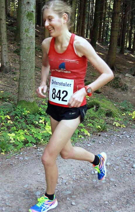 Strammes Laufprogramm: Katrin Köngeter absolvierte es mit Bravour.   | Foto: STinn