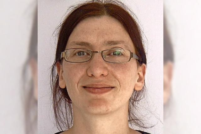 Sandra Klein im Kolleg in St. Blasien