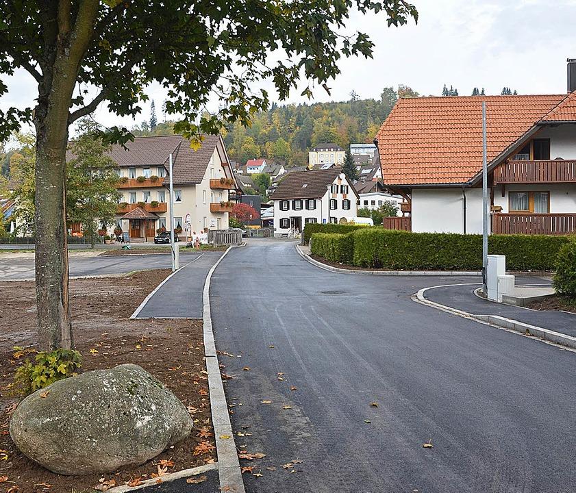 Straßensanierung Im Niederdorf in Lenzkirch ist abgeschlossen    Foto: Ralf Morys